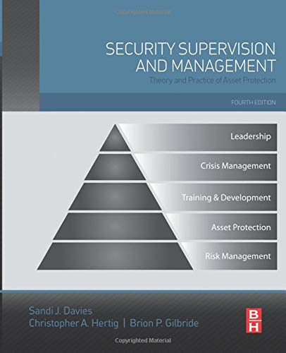 9780128001134: Security Supervision and Management: Theory and Practice of Asset Protection