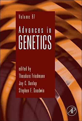 9780128001493: Advances in Genetics, Volume 87