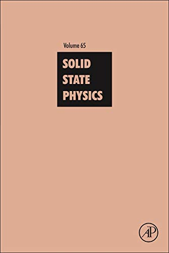 9780128001752: Solid State Physics, Volume 65