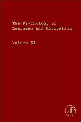 9780128002834: Psychology of Learning and Motivation, Volume 61