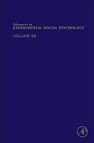 9780128002841: Advances in Experimental Social Psychology, Volume 50