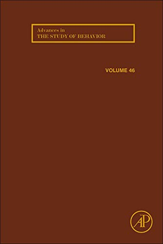 9780128002865: Advances in the Study of Behavior, Volume 46