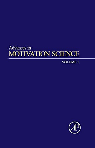 9780128005125: Advances in Motivation Science: 1