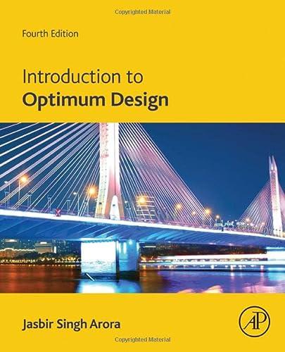 9780128008065: Introduction to Optimum Design