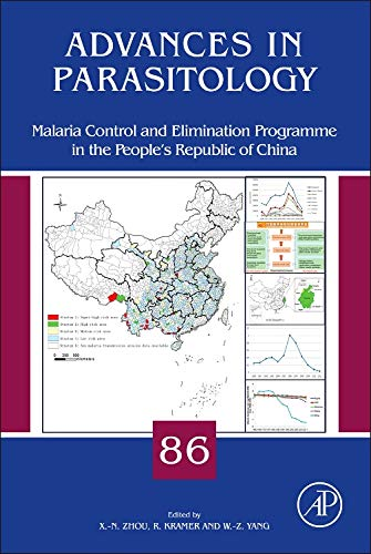9780128008690: Malaria Control and Elimination Program in the People's Republic of China (Advances in Parasitology)