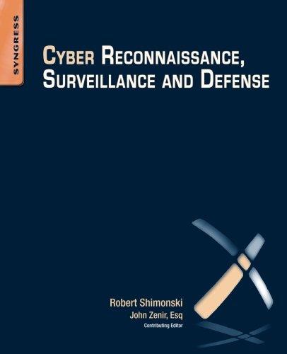 9780128013083: Cyber Reconnaissance, Surveillance and Defense