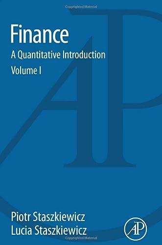 9780128015841: Finance: A Quantitative Introduction