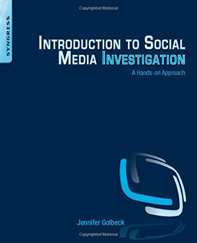 9780128016565: Introduction to Social Media Investigation: A Hands-on Approach