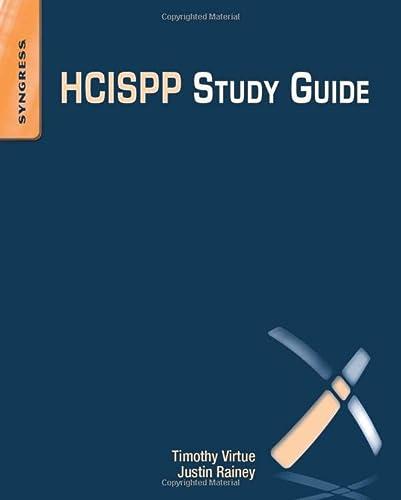 9780128020432: HCISPP Study Guide