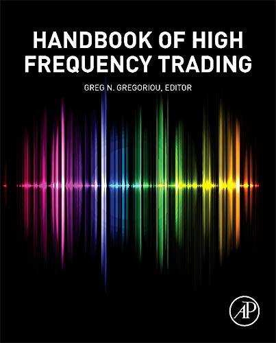 9780128022054: Handbook of High Frequency Trading