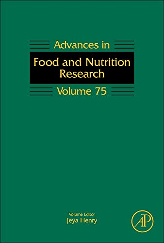 9780128022276: Advances in Food and Nutrition Research, Volume 75