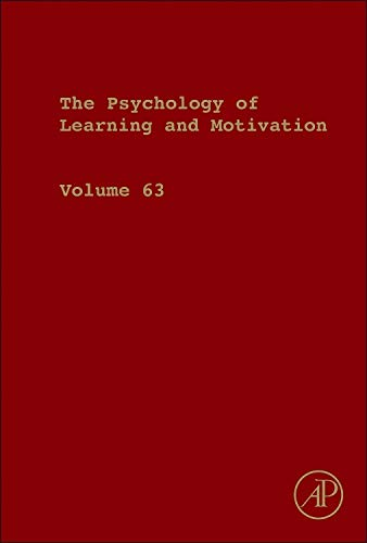 9780128022467: Psychology of Learning and Motivation: 63