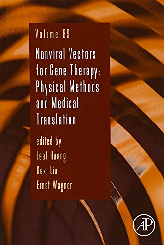 9780128022726: Nonviral Vectors for Gene Therapy, Volume 89: Physical Methods and Medical Translation (Advances in Genetics)
