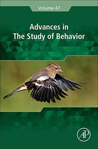 9780128022764: Advances in the Study of Behavior