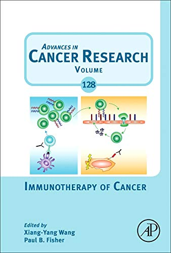 9780128023167: Immunotherapy of Cancer, Volume 128 (Advances in Cancer Research)