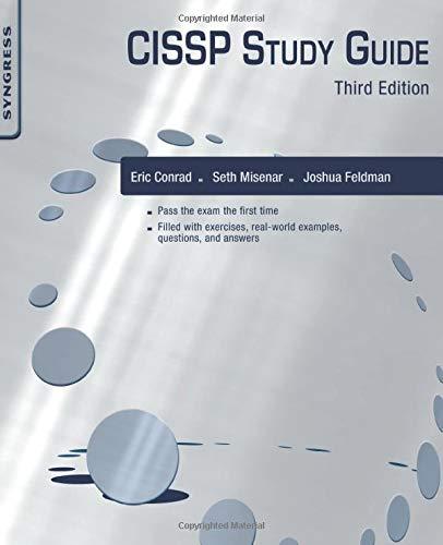 9780128024379: CISSP Study Guide, Third Edition
