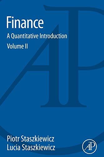 9780128027974: Finance: A Quantitative Introduction
