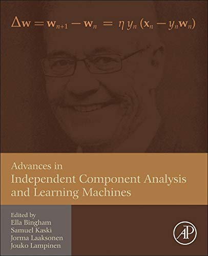 9780128028063: Advances in Independent Component Analysis and Learning Machines