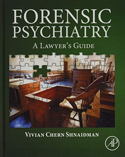 9780128028520: Forensic Psychiatry: A Lawyer's Guide