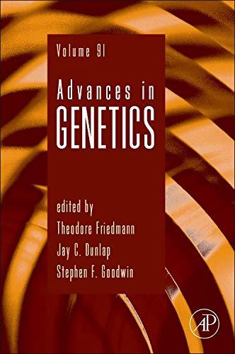 9780128029213: Advances in Genetics, Volume 91