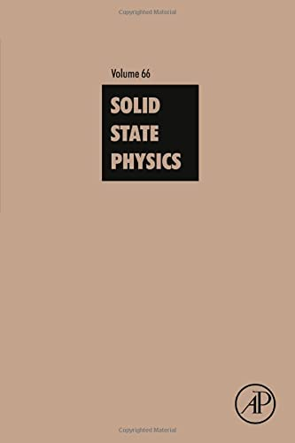 9780128034132: Solid State Physics, Volume 66