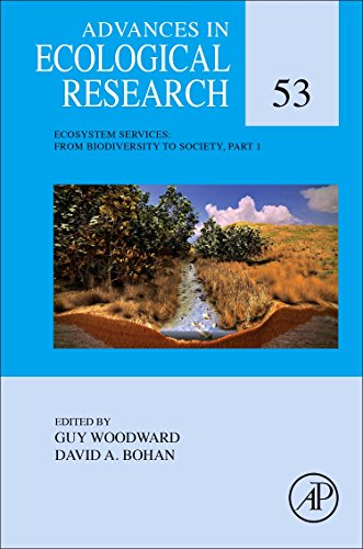 9780128038857: Ecosystem Services: From Biodiversity to Society, Part 1 (Advances in Ecological Research)