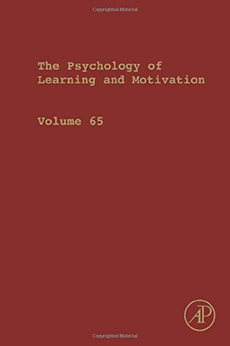 9780128047903: Psychology of Learning and Motivation, Volume 65