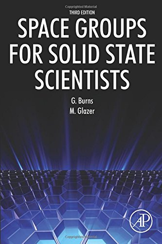 9780128100615: Space Groups for Solid State Scientists, Third Edition