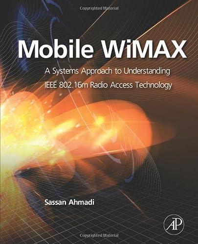 Mobile WiMAX: AHMADI, SASSAN
