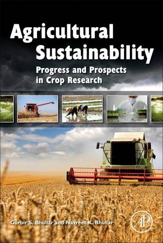 9780128102534: Agricultural Sustainability: Progress and Prospects in Crop Research