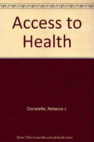 9780130010254: Access to Health