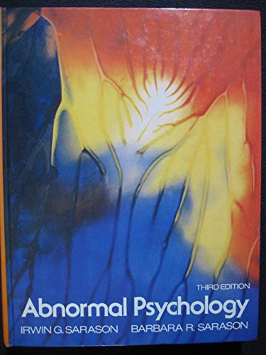 9780130011077: Abnormal Psychology: The Problem of Maladaptive Behaviour