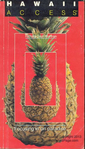 Hawaii Access 1988 (Access Guides): Wurman, Richard Saul