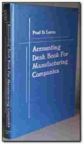 9780130017017: Accounting Desk Book for Manufacturing Companies