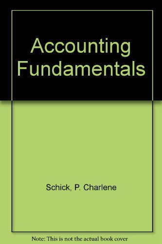 9780130019189: Accounting Fundamentals