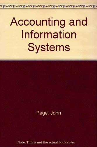 9780130023612: Accounting and Information Systems