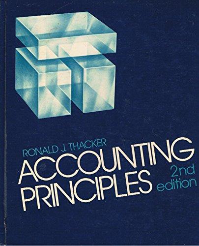 9780130027665: Accounting principles