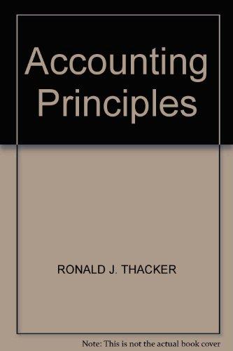 9780130029072: Accounting Principles