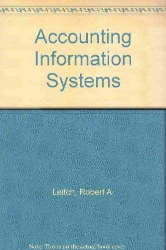 9780130029492: Accounting Information Systems