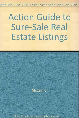 9780130031112: Action Guide to Sure-Sale Real Estate Listings
