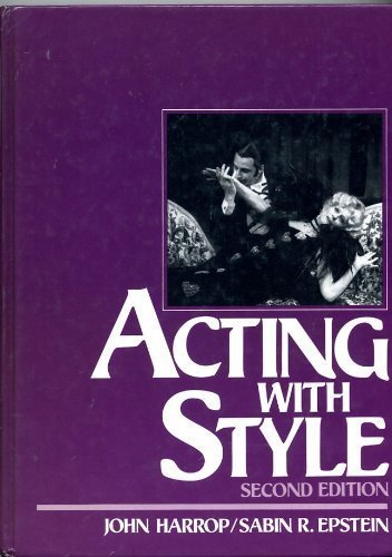 Acting With Style: Harrop, John;Epstein, Sabin R.