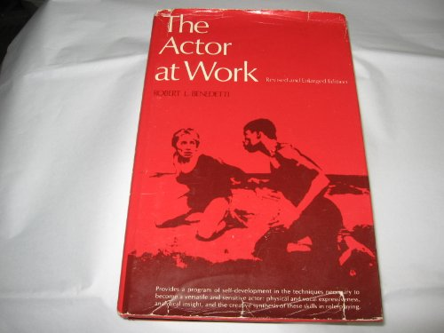 9780130036650: The Actor at Work