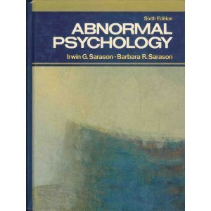 9780130037657: Abnormal Psychology: The Problem of Maladaptive Behaviour