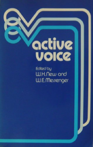 Active voice: New, W.H. and Messenger, W. E.