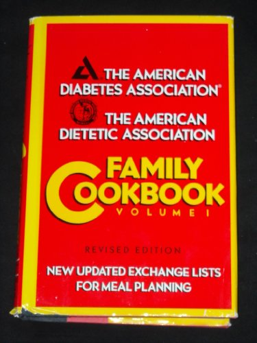 9780130039156: The American Diabetes Association: Family Cookbook, Vol. 1