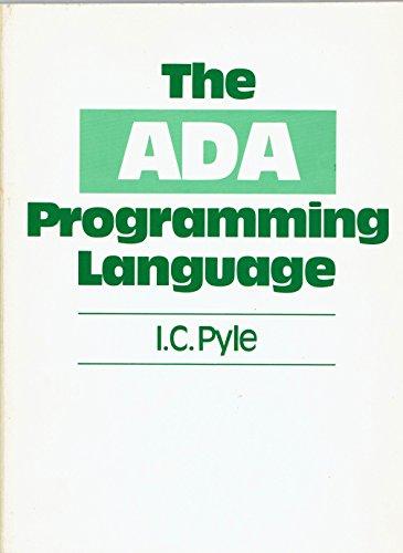 9780130039217: ADA Programming Language