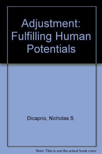 9780130041012: Adjustment: Fulfilling Human Potentials