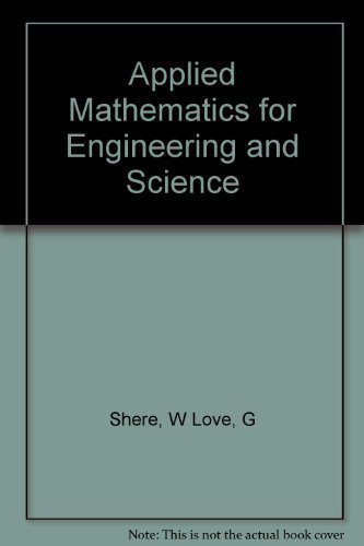 9780130041272: Applied Mathematics for Engineering and Science