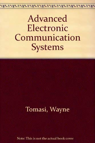 9780130059017: Advanced Electronic Communication Systems