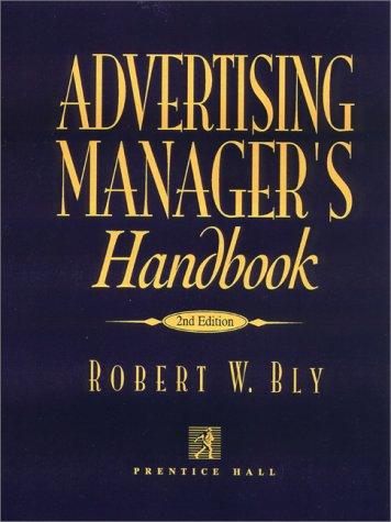 9780130073457: Advertising Manager's Handbook